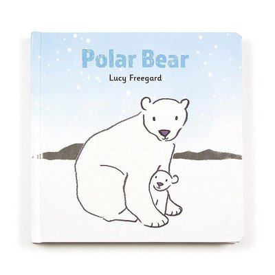 Jellycat - Story Book Jellycat - Polar Bear - Book