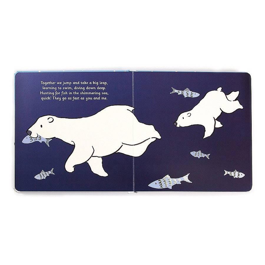 Jellycat Jellycat - Polar Bear - Book