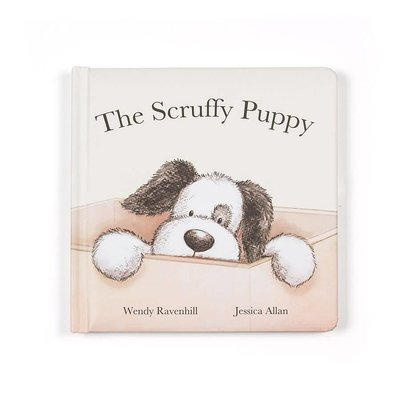 Jellycat - Story Book Jellycat - The Scruffy Puppy - Book