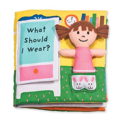 K's Kids What Should I Wear? - Soft Book