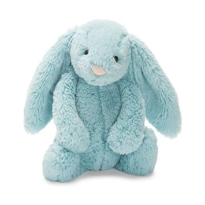 Jellycat - Bashful Jellycat - Bashful Aqua Bunny - Medium