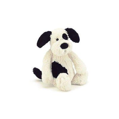 Jellycat - Bashful Jellycat - Bashful Black & Cream Puppy - Small