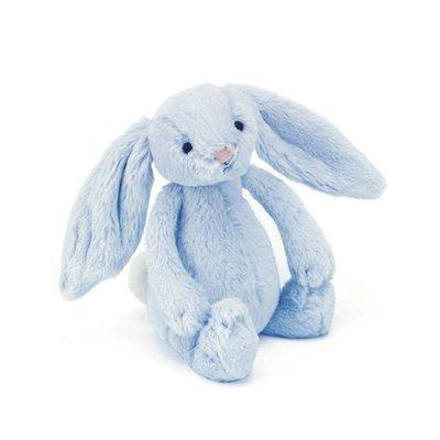 Jellycat - Bashful Jellycat - Bashful Blue Bunny - Rattle
