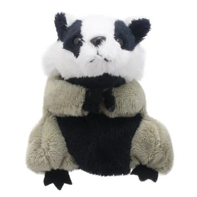 The Puppet Company Finger Puppet - Plush Badger