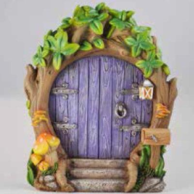 Fiesta Studios Purple Forest Fairy Door