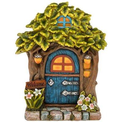 Joe Davies Fairy Glade Welcome Fairy Door Tree - lg