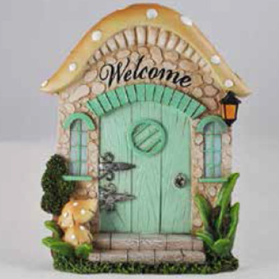 Fiesta Studios Mushroom Cottage Fairy Door