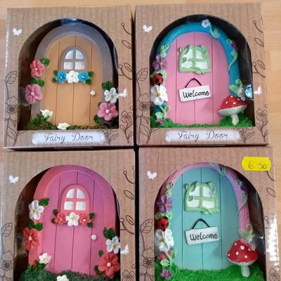 Joe Davies Magic Fairy Garden Door - Assorted colours