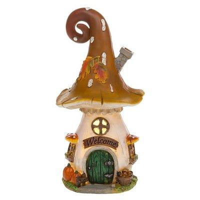 Joe Davies Fairy Glade LED Orange Hood Mushroom House