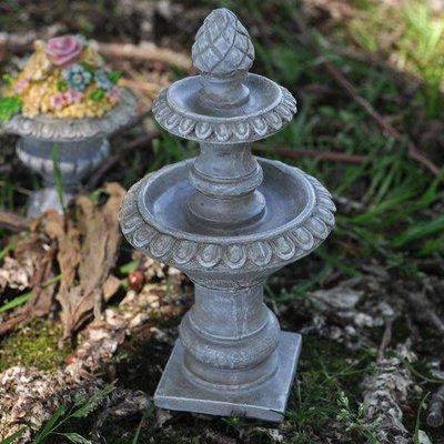 Garden Miniatures Water Fountain