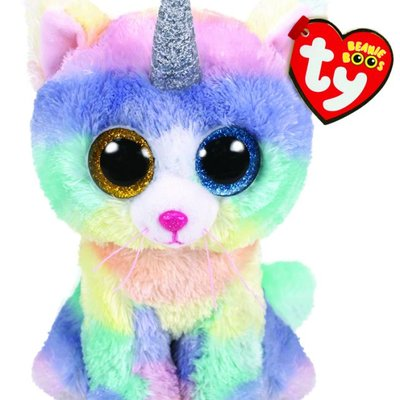 Ty Beanie Boo - Heather the Cat with Horn