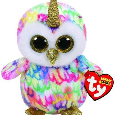 Ty Beanie Boo - Enchanted Owl with Horn