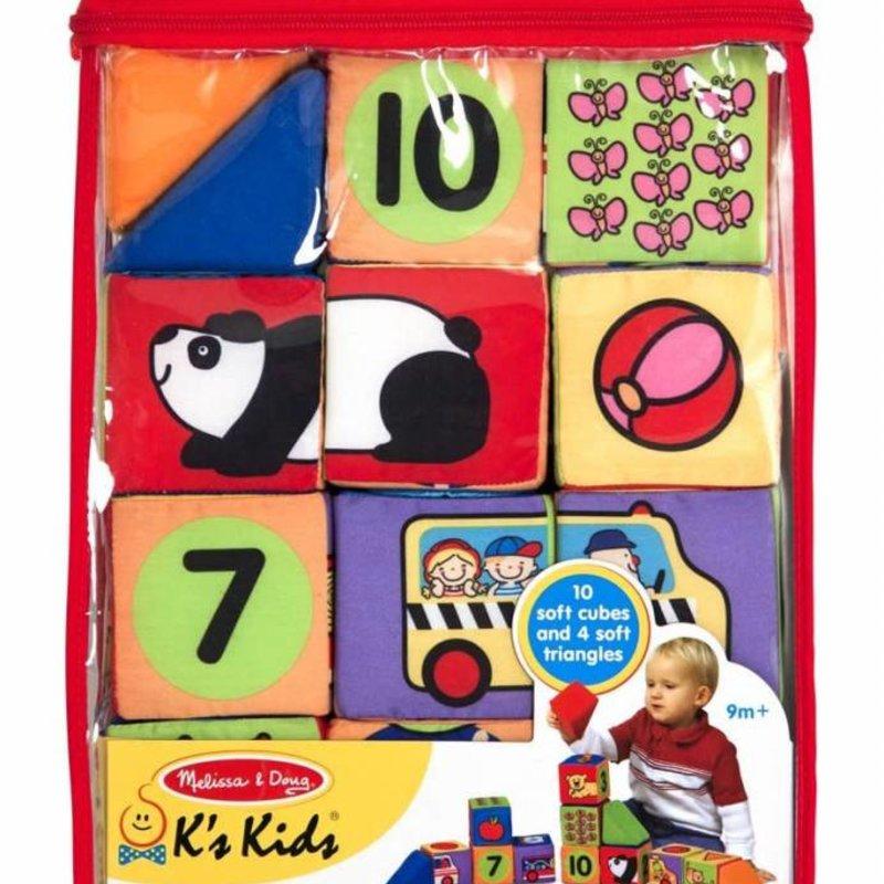 K's Kids Match and Build Soft Blocks