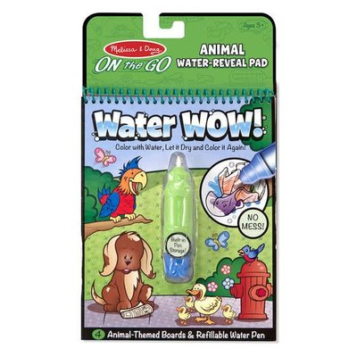 Melissa & Doug Water Wow - Animals - On the Go