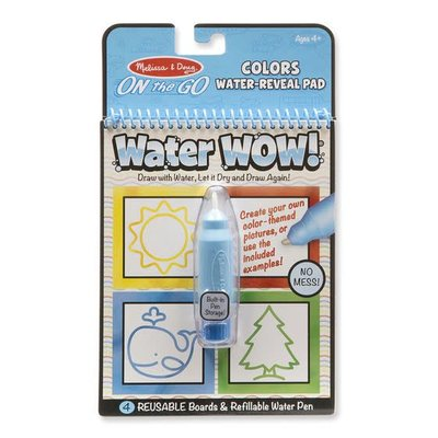 Melissa & Doug Water Wow - Colours and Shapes - On the Go