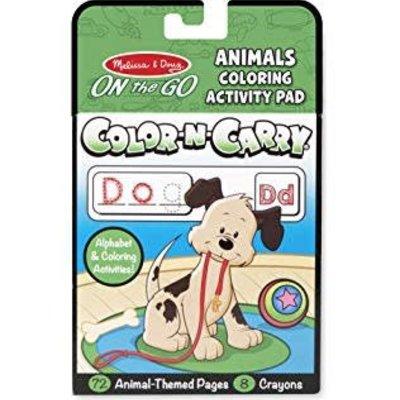 Melissa & Doug Color-n-Carry - Animal - On the Go