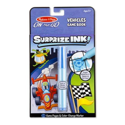 Melissa & Doug Surprize Ink - Vehicles - On the Go