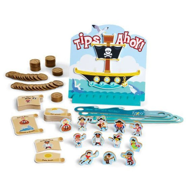 Melissa & Doug Tips Ahoy - The Pirate Ship Balance Game