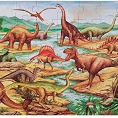 Melissa & Doug Floor Puzzle - Dinosaur (48pcs)