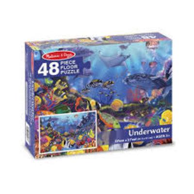 Melissa & Doug Floor Puzzle - Underwater (48pcs)