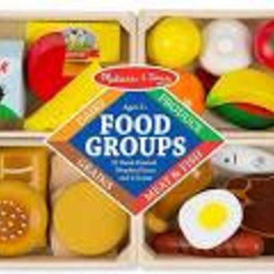 Melissa & Doug Food Groups (Wooden - In Creates)