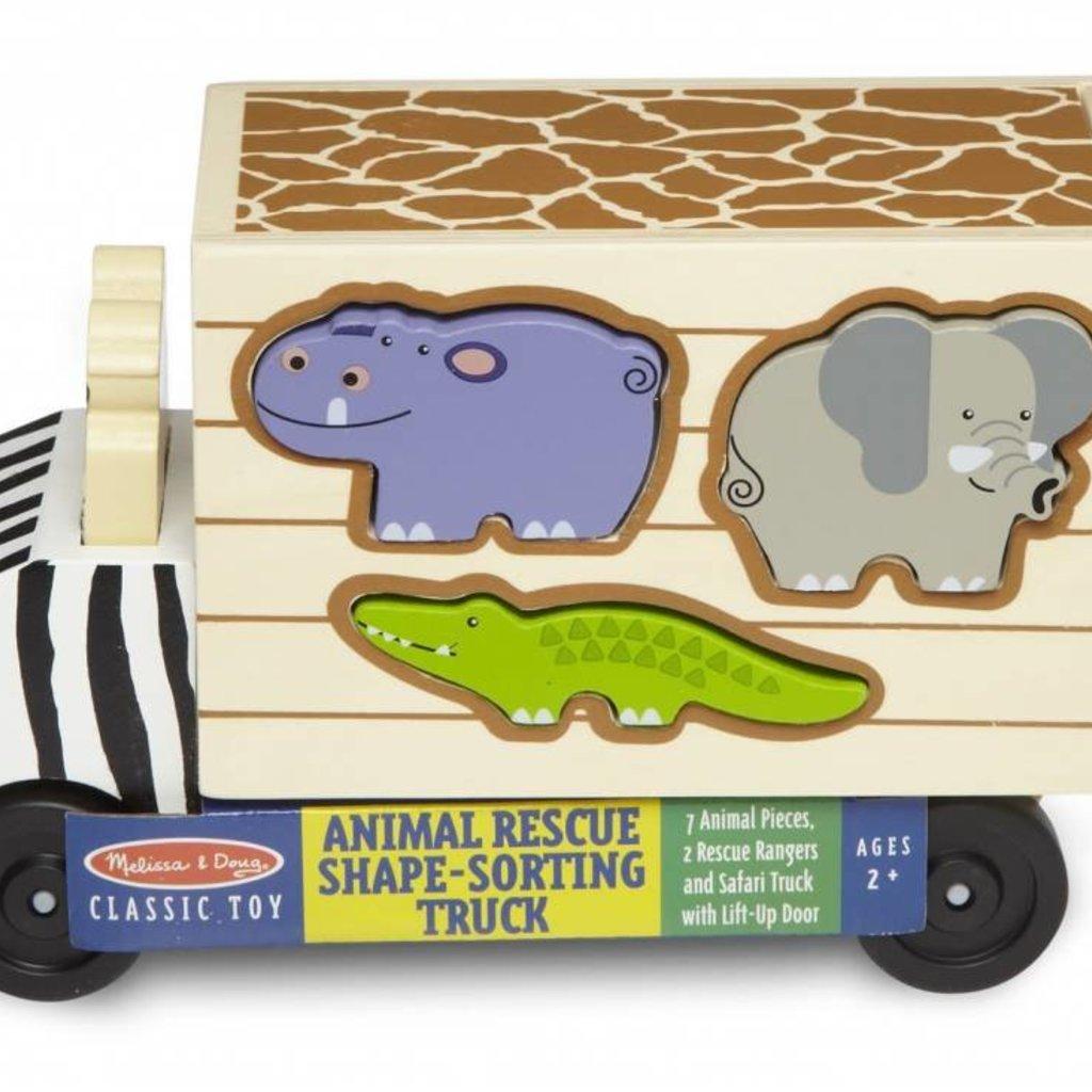 Melissa & Doug Safari Animal Rescue Truck Sorter