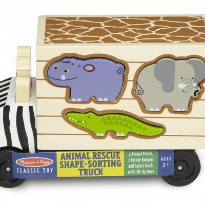 Melissa & Doug Safari Animal Rescue Truck Sorter