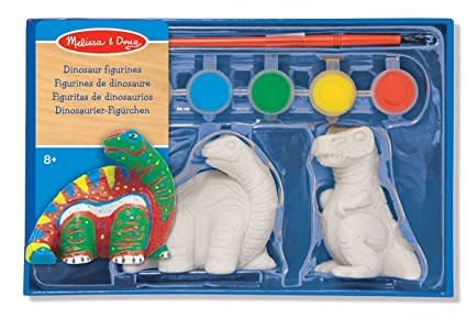 Melissa & Doug Dinosaur Figurines - Craft Kit