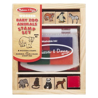 Melissa & Doug Stamp Set - Baby Zoo Animals