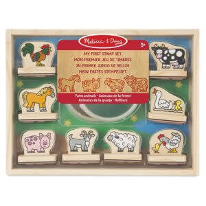 Melissa & Doug My First Stamp Set - Farm