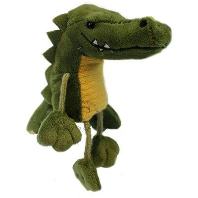 The Puppet Company Finger Puppet - Plush Crocodile