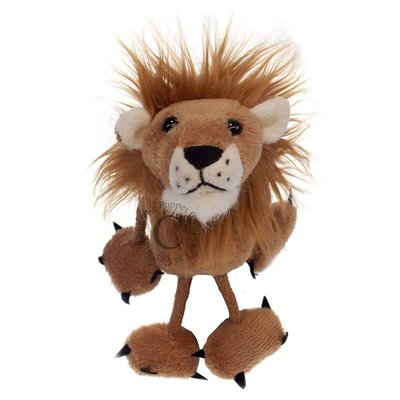 The Puppet Company Finger Puppet - Plush Lion