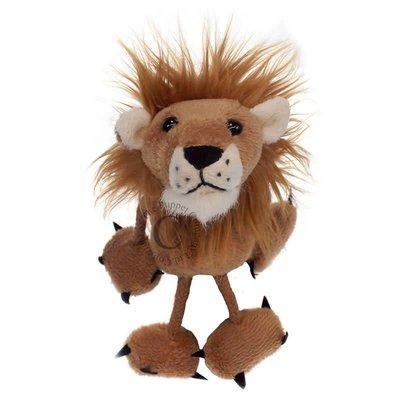 The Puppet Company Finger Puppet - Plush Lion