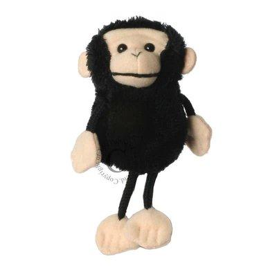 The Puppet Company Finger Puppet - Plush Chimp