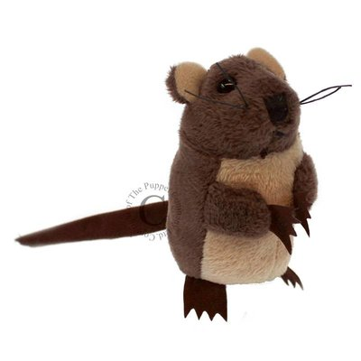 The Puppet Company Finger Puppet - Plush Brown Mouse