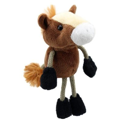 The Puppet Company Finger Puppet - Plush Horse