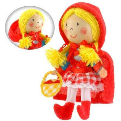 Fiesta Crafts Finger Puppet - Red Riding Hood
