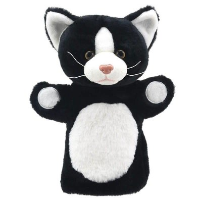 The Puppet Company Animal Puppet Buddies - Cat ( Black & White )