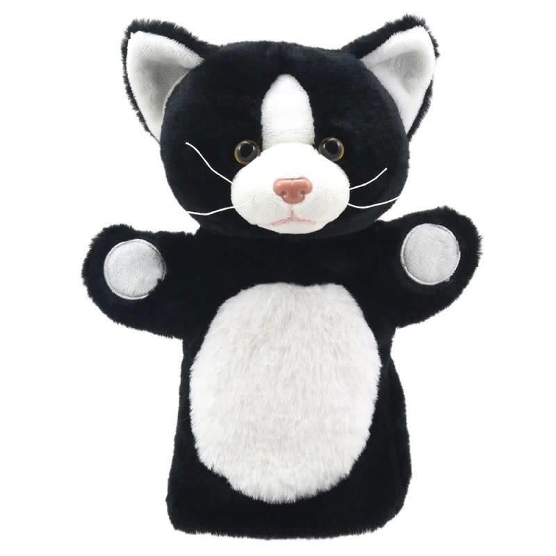 The Puppet Company Animal Puppet Buddies - Cat ( Black & White )