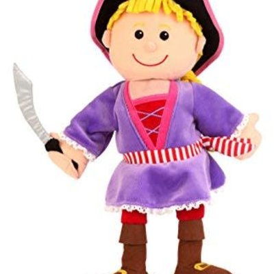 Fiesta Crafts Girl Pirate - Hand Puppet