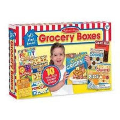 Melissa & Doug Boxed Food Play Set