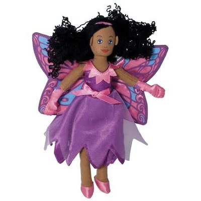 The Puppet Company Finger Puppet - Plush Fairy Butterfly Dark