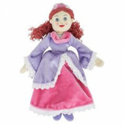 The Puppet Company Finger Puppet - Plush Princess