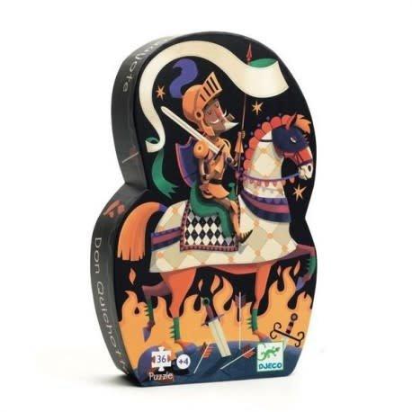 Djeco Don Quixote Puzzle - (36pcs)