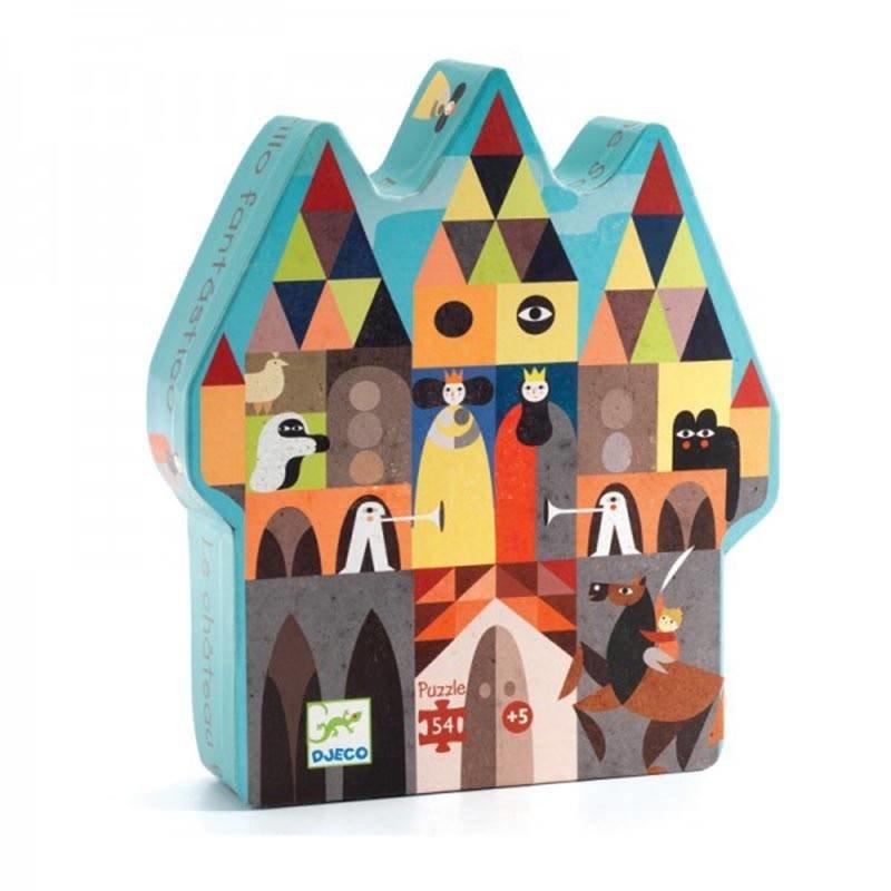 Djeco The Fantastic Castle Puzzle - (54pcs)