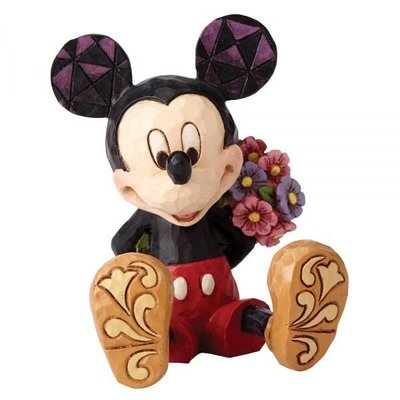 Disney Traditions Disney - Mickey Mouse with Flowers