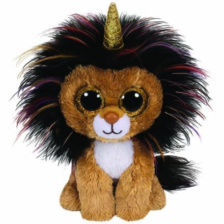 Ty Beanie Boo - Ramsey Lion with Horn