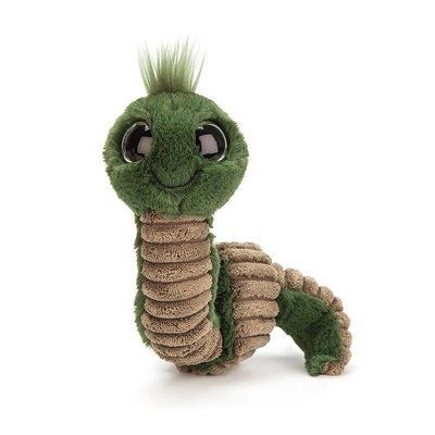 Jellycat - Pocket Pals Jellycat - Wiggly Worm - Green