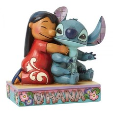 Disney Traditions Disney - Lilo & Stitch - Ohana Means Family