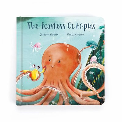 Jellycat - Story Book Jellycat - The Fearless Octopus - Book